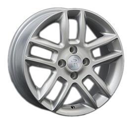 Автомобильный диск литой Replay KI117 6x15 4/100 ET 48 DIA 54,1 Sil