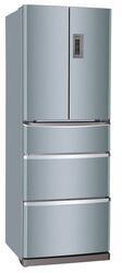 Холодильник с морозильником Haier HRF-339MF серебристый