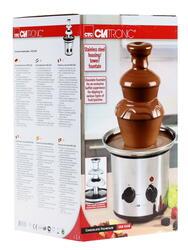 Шоколадный фонтан Clatronic SKB 3248 серебристый