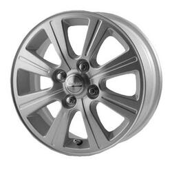 Автомобильный диск Литой Скад Альтаир 5,5x14 4/108 ET 43 DIA 67,1 Платина