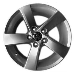 Автомобильный диск литой Replay VV118 7x16 5/112 ET 50 DIA 57,1 Sil