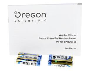 Метеостанция Oregon Scientific BAR218HG