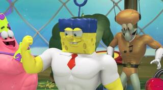 Игра для PS Vita SpongeBob Heropants