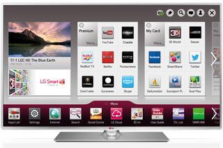 "42"" (106 см)  LED-телевизор LG 42LB580V серебристый"