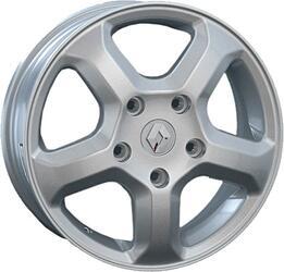 Автомобильный диск Литой Replay RN35 6x16 5/118 ET 50 DIA 71,1 Sil