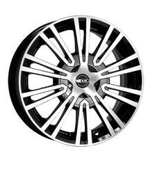 Автомобильный диск Литой K&K Адамас 5,5x14 5/100 ET 40 DIA 67,1 Алмаз черный