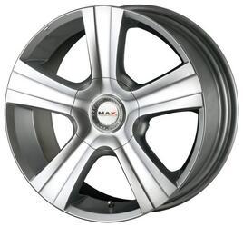 Автомобильный диск Литой MAK Strada 9x18 5/150 ET 60 DIA 110,2 Hyper Silver