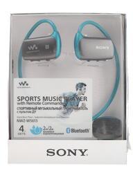MP3 плеер Sony NWZ-WS613 синий