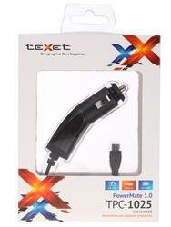Автомобильное зарядное устройство teXet TPC-1025