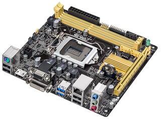 Плата Asus H81I-PLUS Socket-1150 Intel H81 DDR3 mini-ITX AC`97 8ch(7.1) GbLAN SATA3 VGA+DVI+HDMI