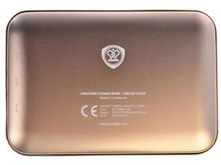 Портативный аккумулятор Prestigio PBC02100CP золотистый