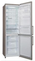 Холодильник с морозильником LG GA-B379SLQZ серебристый