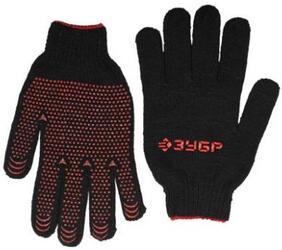 """Перчатки ЗУБР """"МAСTEP"""" трикотажные, 7 класс, с защитой от скольжения, утепленные, полушерстяные, L-XL"""