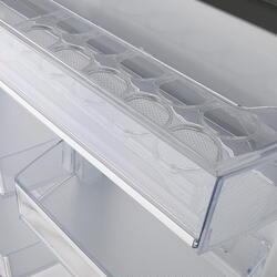 Холодильник с морозильником Samsung RB37J5240SS/WT серебристый