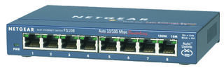 Коммутатор Netgear FS108-200PES