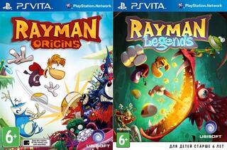 Игра для PS Vita Rayman Legends + Rayman Origins