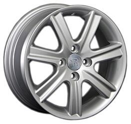 Автомобильный диск литой Replay GN78 6x15 4/100 ET 39 DIA 56,6 Sil