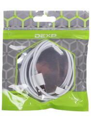 Кабель DEXP U3WSI150 USB - 30-pin белый