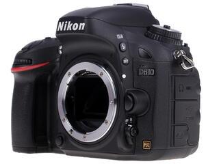 Зеркальная камера Nikon D610 Body черный