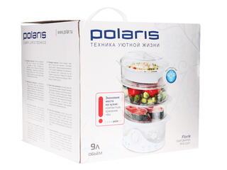 Пароварка Polaris PFS 0301 FLORIS белый