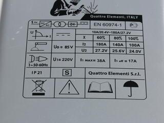 Сварочный аппарат Quattro Elementi A 180 Nano