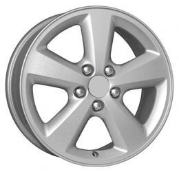 Автомобильный диск Литой K&K Фокус 6x15 4/108 ET 52,5 DIA 63,3 Сильвер