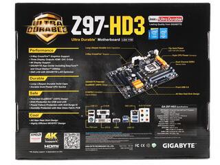 Материнская плата GIGABYTE GA-Z97-HD3