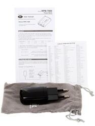 Портативный аккумулятор RITMIX RPB-7800 черный