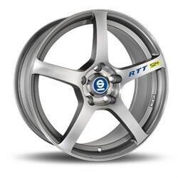 Автомобильный диск Литой SPARCO RTT524 7x16 4/100 ET 37 DIA 63,3 Matt Silver Tech D.C.