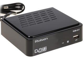 Приставка для цифрового ТВ Rolsen RDB-517