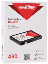 480 ГБ SSD-накопитель Smartbuy Revival [SB480GB-RVVL-25SAT3]