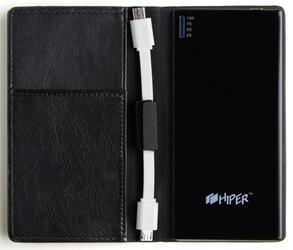 Портативный аккумулятор Hiper SLIM 3500 черный
