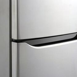 Холодильник с морозильником LG GC-B409SLCA серебристый