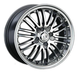 Автомобильный диск Литой LS 201 6,5x15 4/100 ET 43 DIA 73,1 GMF