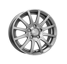 Автомобильный диск литой K&K Сиеста 6x15 4/114,3 ET 40 DIA 66,1 Блэк платинум