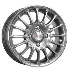 Автомобильный диск Литой K&K Формула Рольф 6x15 4/114,3 ET 46 DIA 67,1 Сильвер