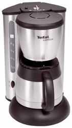 Кофеварка Tefal CI 1155 серебристый