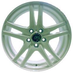 Автомобильный диск Литой Nitro Y4816 6x15 4/100 ET 40 DIA 56,6 White