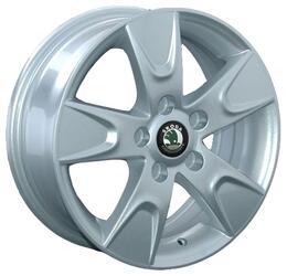 Автомобильный диск литой Replay SK18 6x15 5/112 ET 43 DIA 57,1 Sil