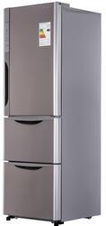Холодильник с морозильником Hitach R-SG37 BPU ST серебристый