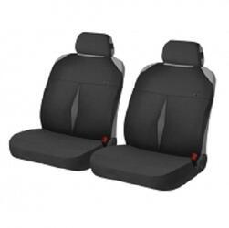 Накидка на сиденье H&R KARAT FRONT т.серый/черный