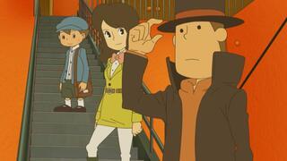 Игра для 3DS Professor Layton & Azran Legacy