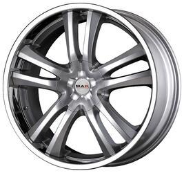 Автомобильный диск Литой MAK Canyon 9x20 6/139,7 ET 30 DIA 106,1 Hyper Silver Steel Lip