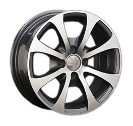 Автомобильный диск Литой LS BY503 6x14 4/108 ET 28 DIA 73,1 GMF