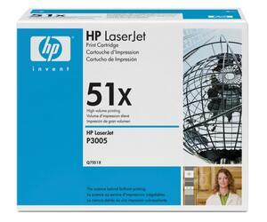 Картридж лазерный HP 51X (Q7551X)