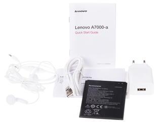 "5.5"" Смартфон Lenovo A7000 8 ГБ белый"