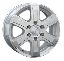 Автомобильный диск литой Replay GW1 7x17 6/139,7 ET 38 DIA 100,1 Sil