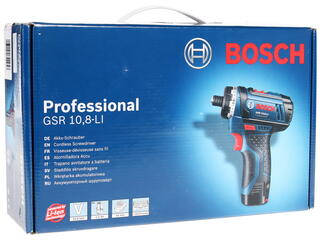 Шуруповерт Bosch GSR 10.8-Li