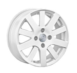 Автомобильный диск литой Replay PG11 6x15 4/108 ET 37 DIA 57,1 White