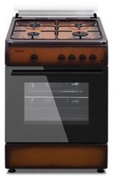 Газовая плита Simfer F 7402 ZGRD коричневый